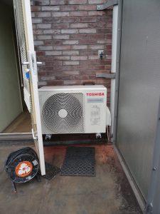 energieverbruik verlagen - Warmtepomp buiten