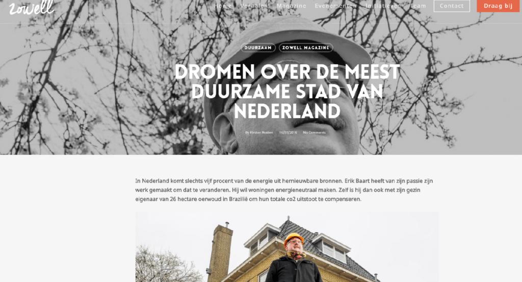 Baart-DOET sociaal betrokken maatschappelijk ondernemen MVO duurzaam betrokken regio Zwolle duurzame stad