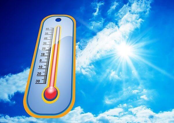 Warmtescan in de zomer
